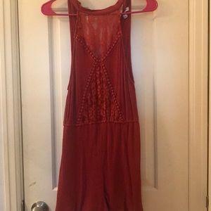 Dresses & Skirts - Burnt Orange Romper